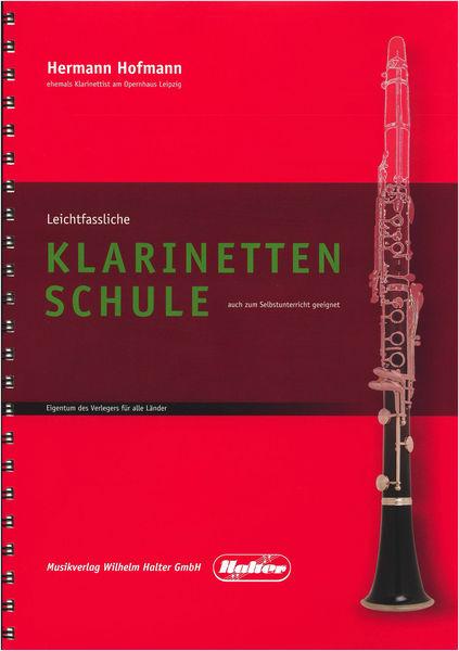 Musikverlag Wilhelm Halter Hofmann Klarinettenschule