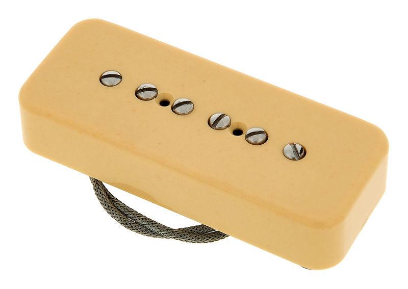 "Gibson PU Cover /""Soapbar/"" P-90 P-100 Schwarz"
