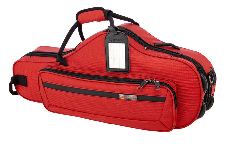 PB-304 CT Alto Sax Case Red Protec