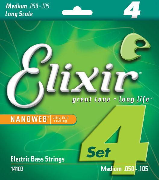 Elixir 14102 Nanoweb Medium Longscale