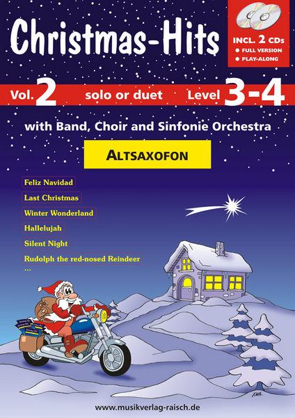 Musikverlag Raisch Christmas-Hits 2 (A-Sax)