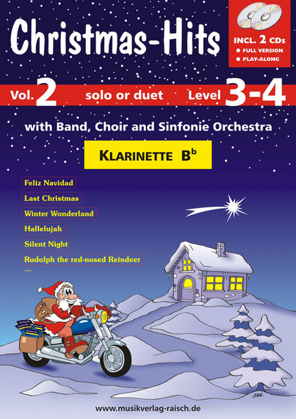 Musikverlag Raisch Christmas-Hits 2 (Clar)