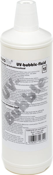 Eurolite UV Bubble Fluid 1 lt.