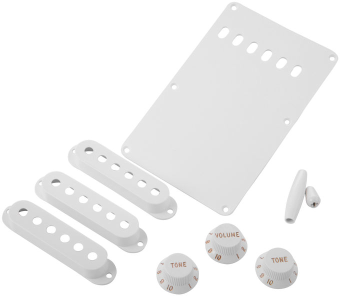 Fender Strat Accessory Kit White
