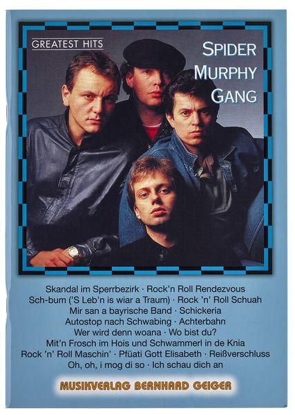 Musikverlag Geiger Spider Murphy Gang Greatest Hi