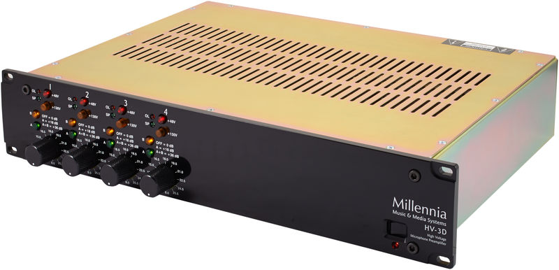 Millennia HV-3D 4 Channel SolidState Mic