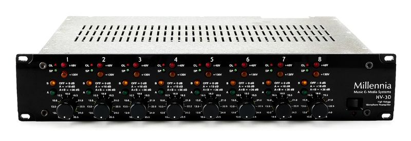 Millennia HV-3D 8 Channel SolidState Mic