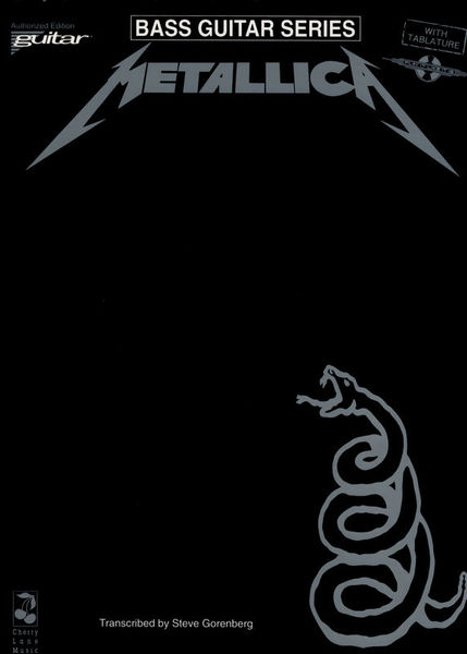 Music Sales Metallica Black Album Bass
