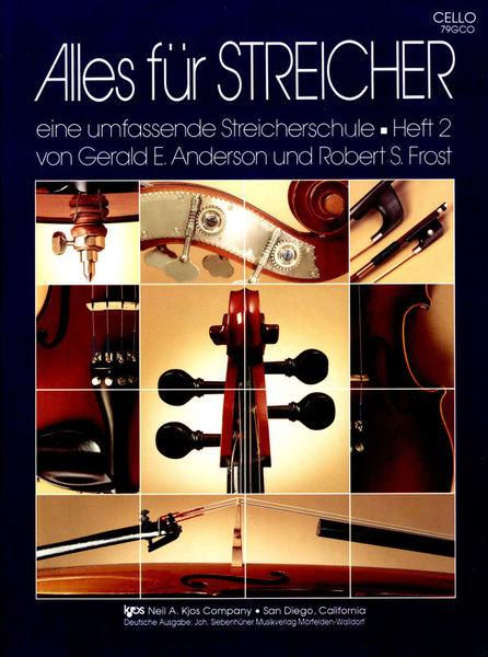 Neil A.Kjos Music Company Alles for Streicher Cello 2