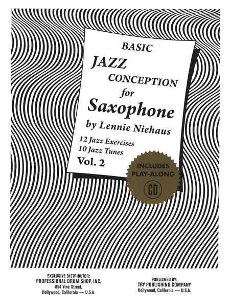 Niehaus Basic Jazz Concep. 2 Advance Music