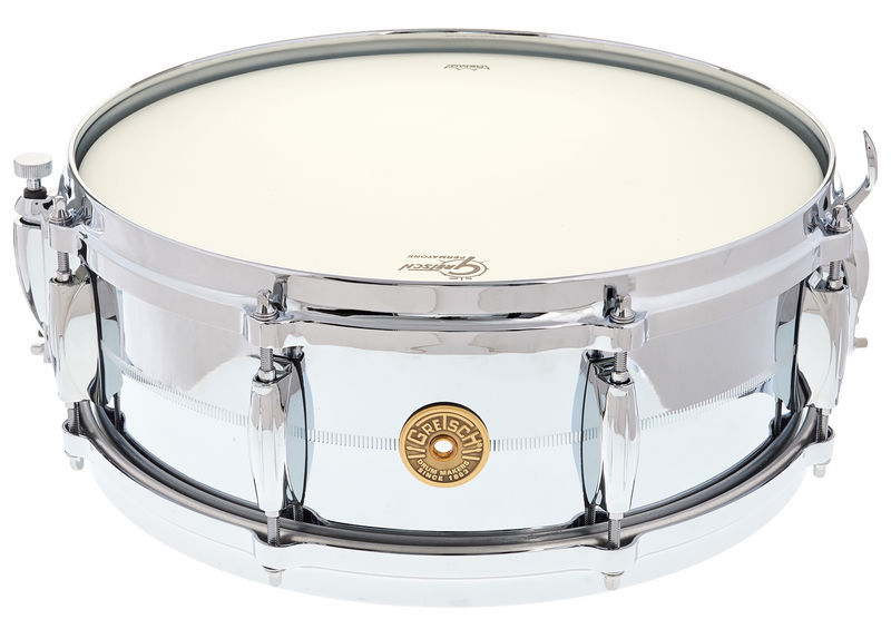 "Gretsch 14""x05"" Snare Chrome o. Brass"
