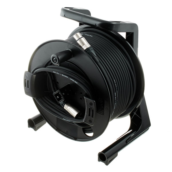 DMX Cable Drum 50m 3 Pin pro snake