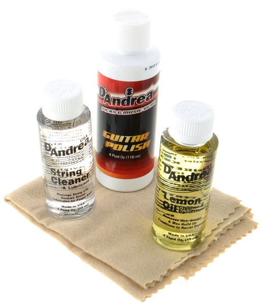 dAndrea Guitar Care Kit Deluxe