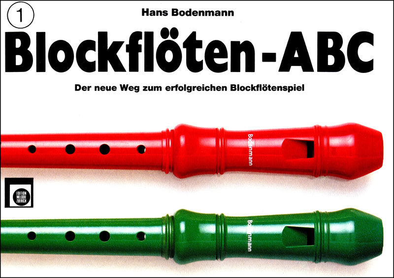 Edition Melodie Blockflöten ABC Vol.1