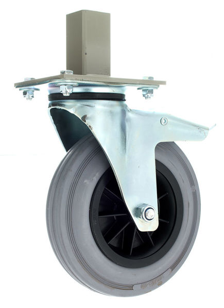 Mott Wheel for Stage-Legs w. Brake