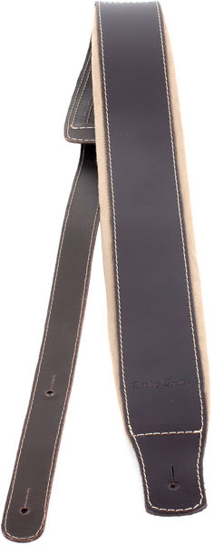 Harley Benton Guitar Strap Padded Brown