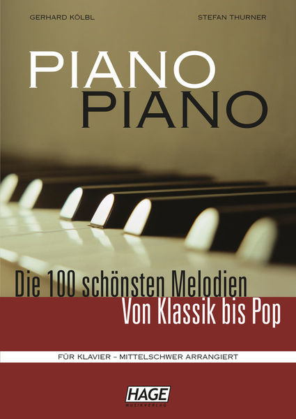 Hage Musikverlag Piano Piano Vol.1 Intermediate