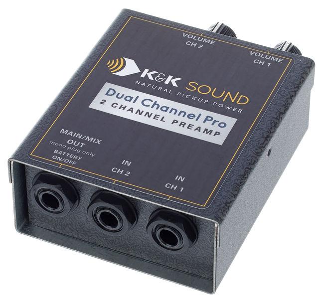 K&K Dual Channel Pro Preamp