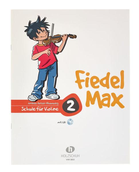 Holzschuh Verlag Fiedel Max Schule Violin 2