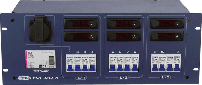 Showtec PSA-3212S Power Distributor