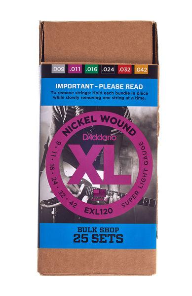 Daddario EXL120-B25