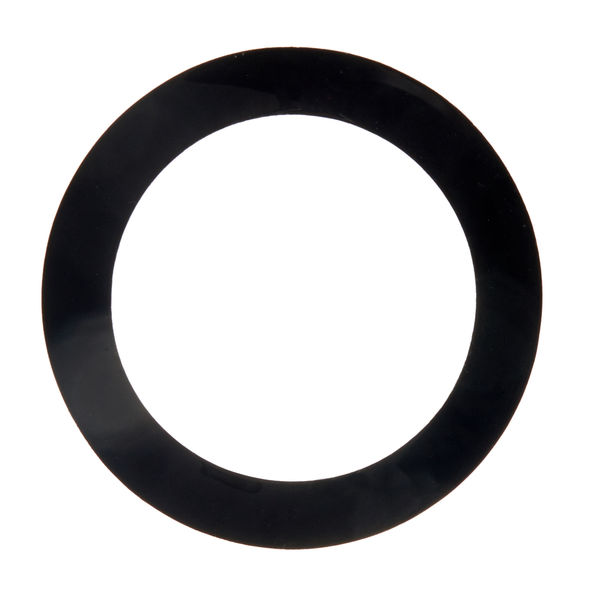 Remo Dynamo Ring Black 5,5""