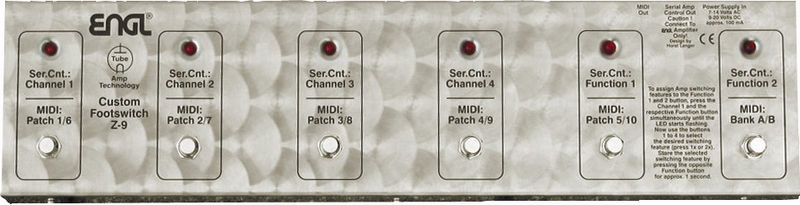 Engl Z9 MIDI Foot Controller