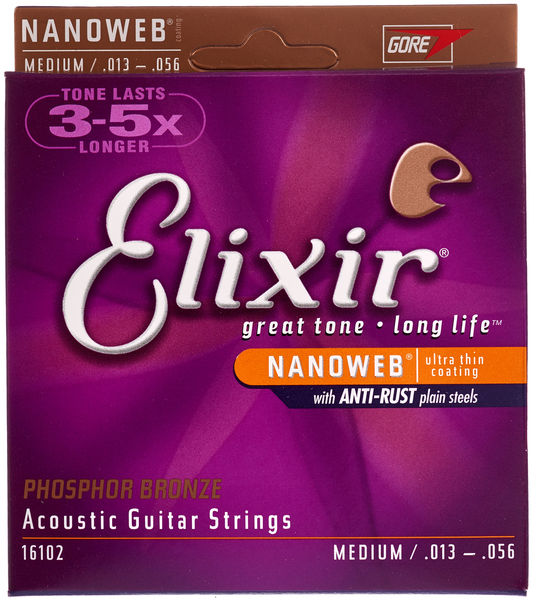 Elixir Nanoweb Medium Phosphor