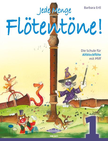 Holzschuh Verlag Flötentöne Vol.1 Alto