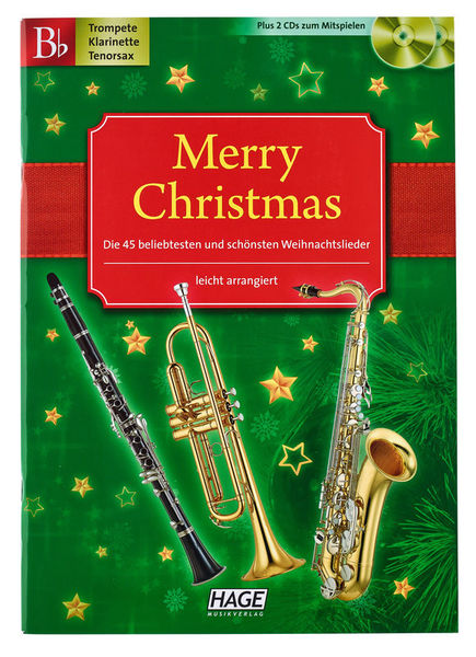 Merry Christmas (Bb-Instr.) Hage Musikverlag