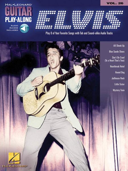 Hal Leonard Guitar Play-Along Elvis