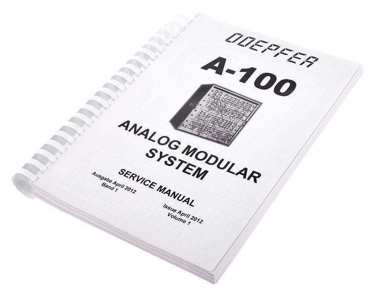 Doepfer A-100SM (Service Manual) germ.