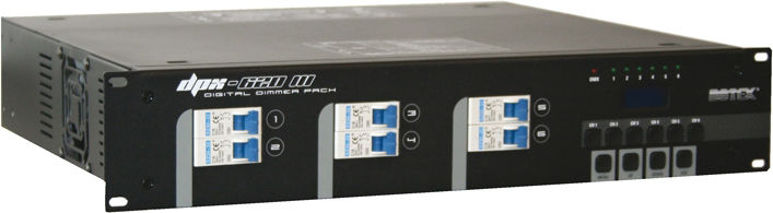 Botex DPX-620 III 6-Channel Dimmer S