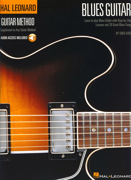 Hal Leonard Guitar Method Blues Guitar