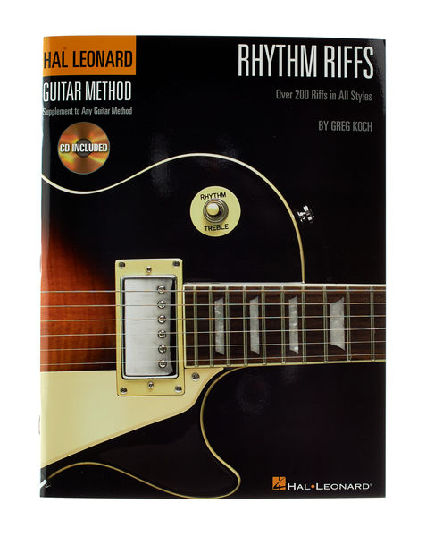 Hal Leonard Rhythm Riffs Guitar Method