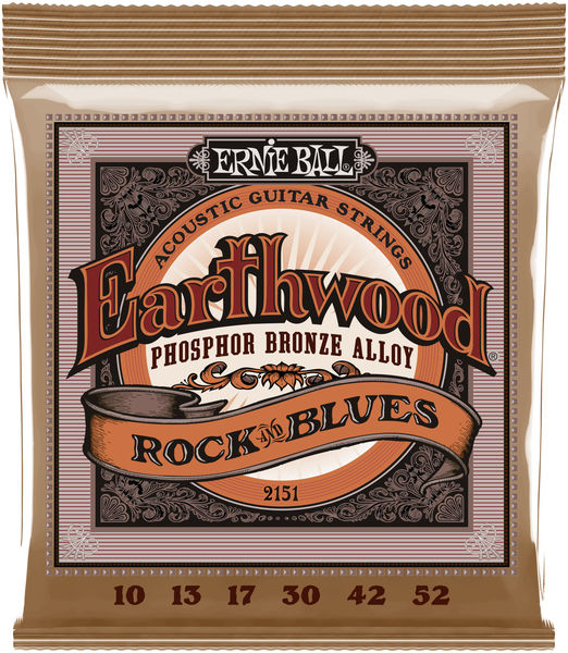 Ernie Ball 2151 Earthwood Phosphor Bronze
