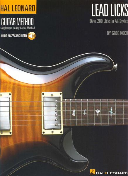 Hal Leonard Lead Licks