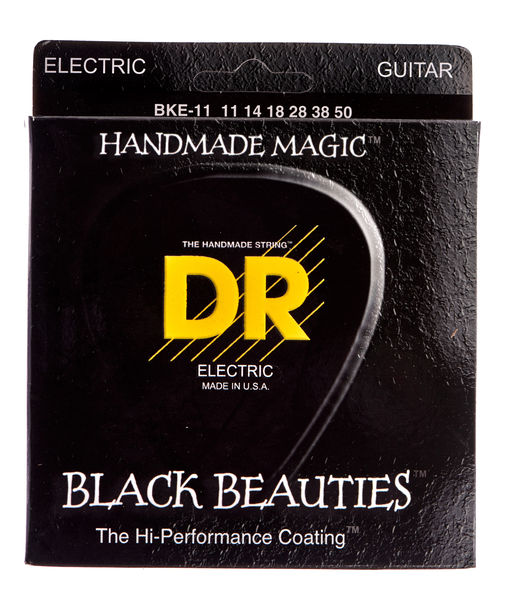DR Strings Black Beauties BKE- 11