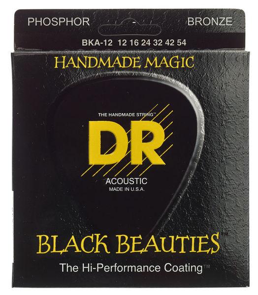 DR Strings Black Beauties BKA- 12