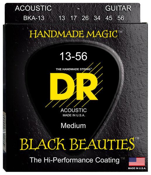 DR Strings Black Beauties BKA- 13