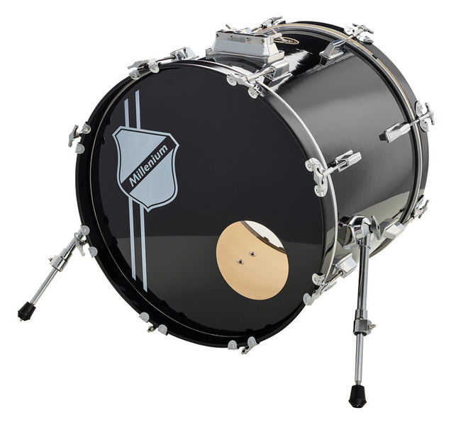 "Millenium 20""x16"" MX500 Series Bass Drum"