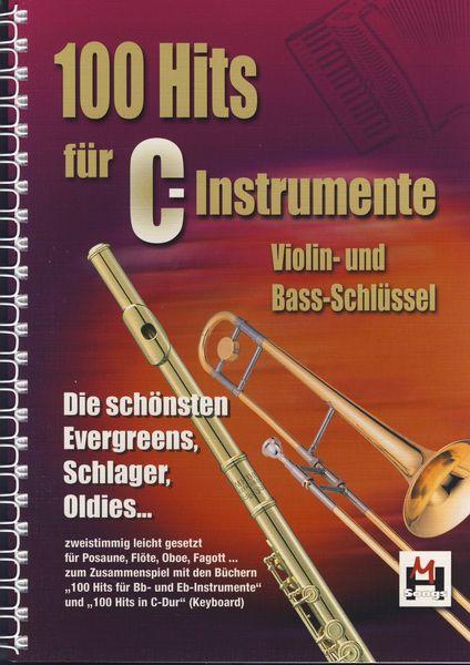 100 Hits für C-Instrumente Musikverlag Hildner