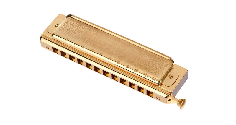 Hohner Chromonica II M270 C Gold