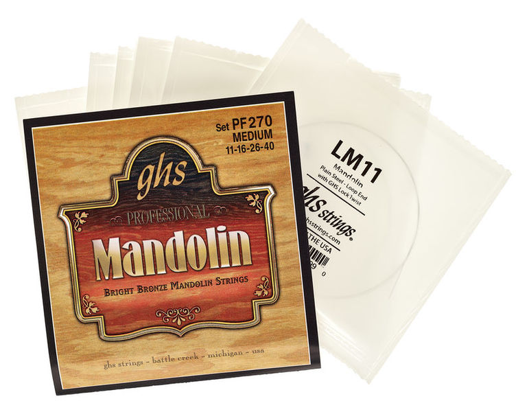 GHS PF270 Mandolin Strings