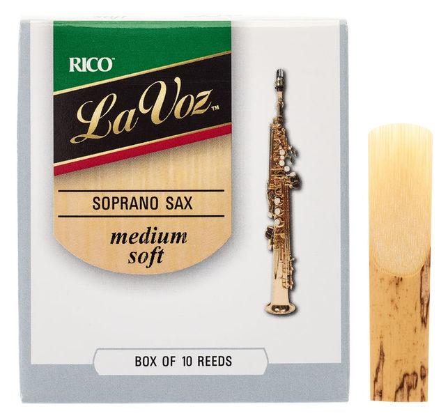 Daddario Woodwinds La Voz Soprano Sax MS
