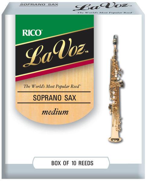 DAddario Woodwinds La Voz Soprano Sax M