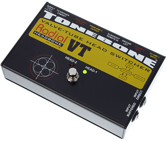Radial Engineering Tonebone Headbone VT