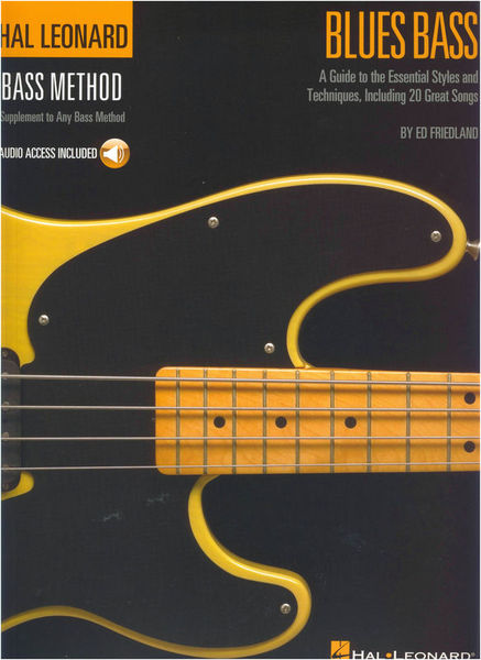 Hal Leonard Bass Method Bluesbass