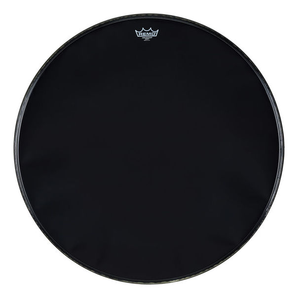 "Remo 28"" Ambassador Ebony Bass Drum"