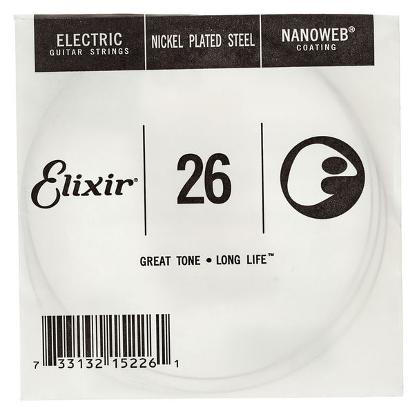 Elixir .026 Electric Guitar